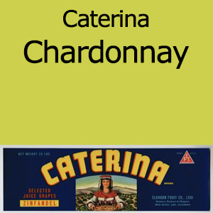 Caterina Chardonnay Clement Hills AVA Base of Sierra Foothills