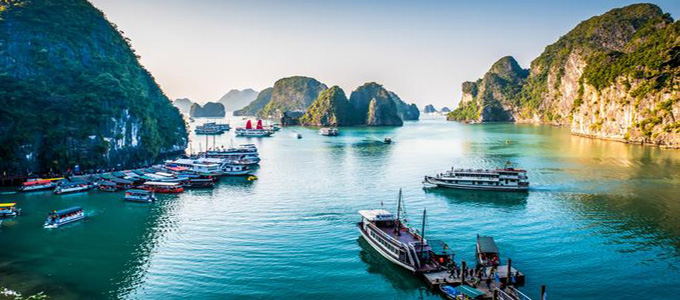 Halong Bay Vietnam (credit: Escape)