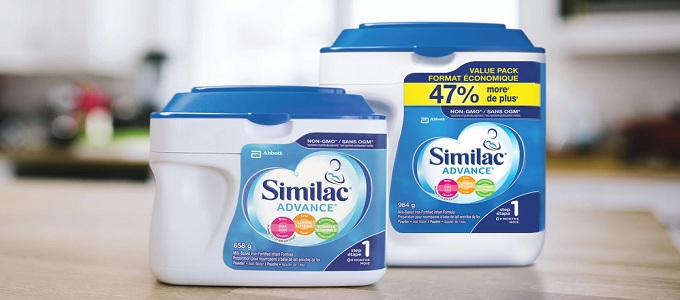 Ilustrasi: Komposisi Susu Similac Advance (credit: similac.ca)