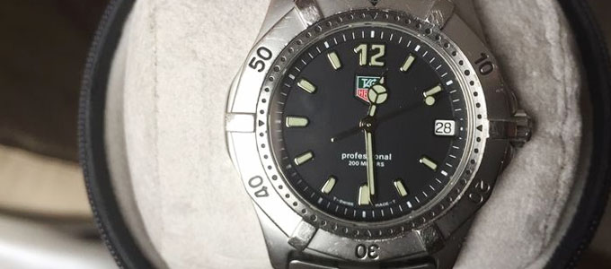 Jam Tangan Tag Heuer Professional 200 Meters - auction.catawiki.com