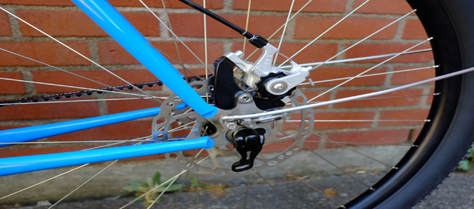 Mechanical Disc Brakes (credit: Flickr/Ahearne Cycles)