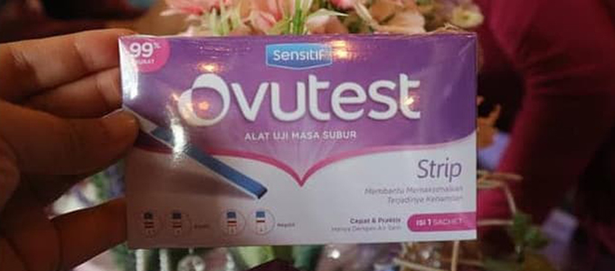 Ovutest Strip (sumber: Tokopedia)