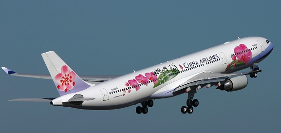 Pesawat China Airlines