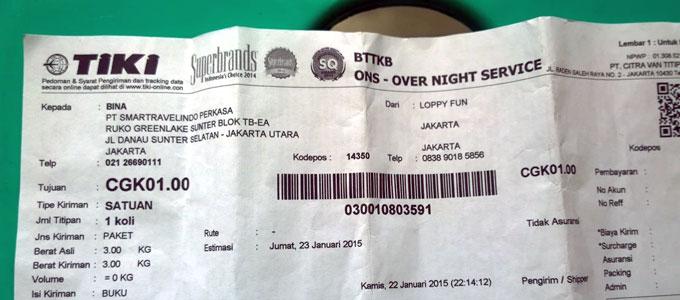 Update Tarif Ongkos Kirim Ongkir Tiki Ons Dari Jakarta Ke Berbagai Kota Daftar Harga Tarif
