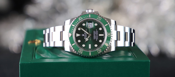 Rolex Submariner Hulk (credit: millenarywatches)