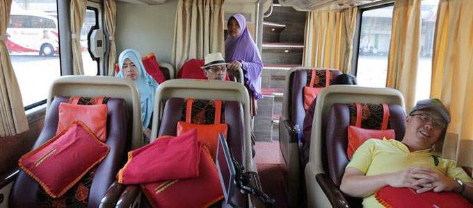 Tarif Tiket Sleeper Bus - travel.kompas.com