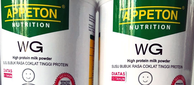 Susu Appeton Weight Gain (sumber: shoppe.co.id)