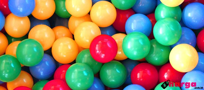 Update Harga Bola Plastik Kecil Warna Warni untuk Mainan