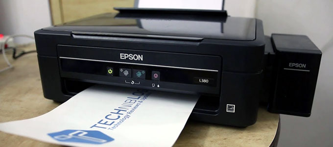 Epson L380 (youtube: Techniblogic Hindi)