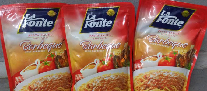La Fonte Pasta Sauce Barbeque (sumber: carousell.com)