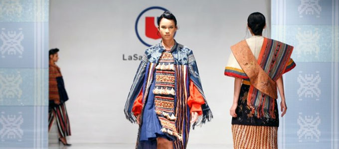 Fashion show LaSalle College (sumber: tribunnews.com)