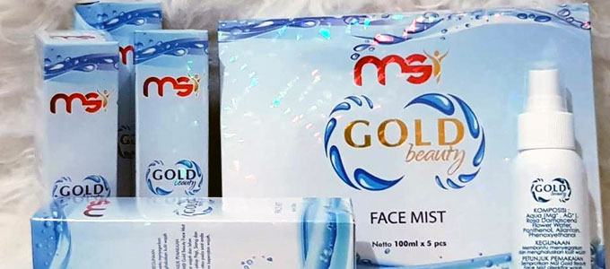 MSI Gold Beauty Face Mist (sumber: msi-id.com)