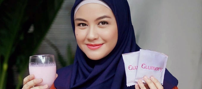 Revalina S. Temat & Glumory beauty drink (sumber: shopee.co.id)