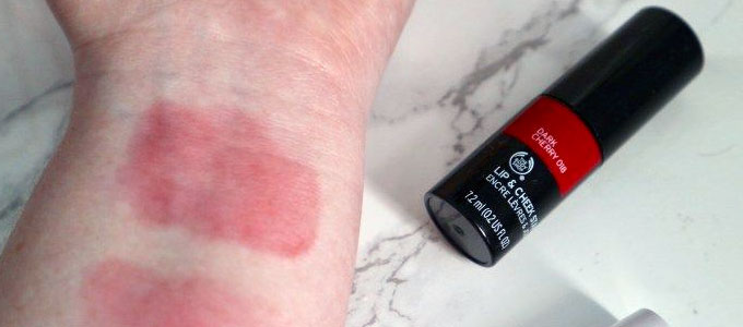 Liptint The Body Shop (sumber: pinterest)