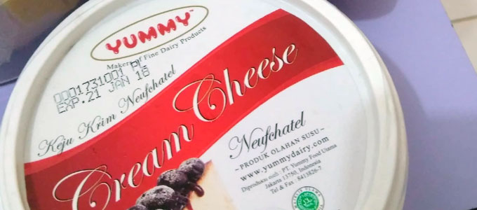 Yummy Cream Cheese (sumber: Tokopedia)