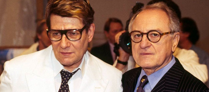 Yves Saint Laurent & Pierre Berge (sumber: telegraph.co.uk)