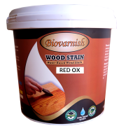 BIOVARNISH WOOD STAIN RED OX