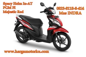 spacy majestic red Brosur Daftar Harga Tunai Cash Kredit Sepeda Motor dealer showroom Pekanbaru 0823 8118 8 414 CBR Beat Vario Techno REVO StreetFire verza revo mega pro pcx Supra X 125 termurah promosi syariah terbaru streetfire CB150R