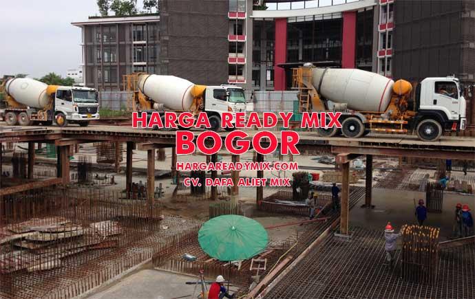 Harga Ready Mix Bogor