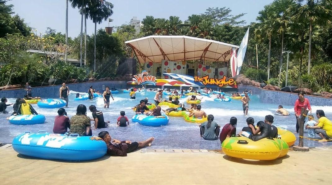 kolam ombak the jungle