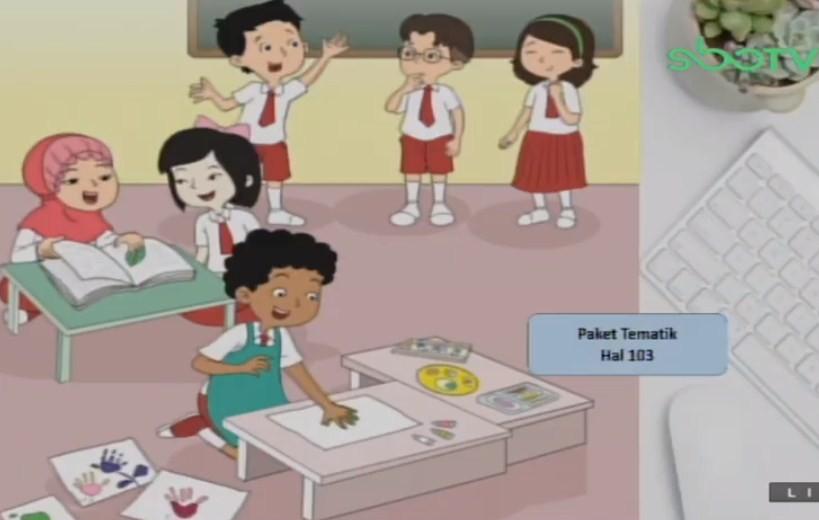 Soal dan Jawaban SBO TV 19 Agustus SD Kelas 1