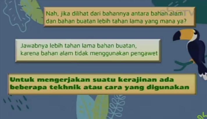 Soal dan Jawaban SBO TV 25 Agustus SD Kelas 3
