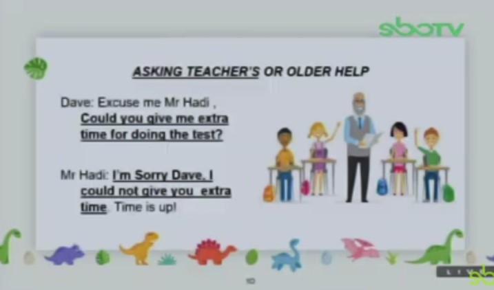 Soal dan Jawaban SBO TV 24 Agustus SD Kelas 4