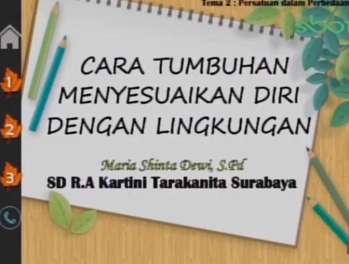 Soal dan Jawaban SBO TV 7 Agustus SD Kelas 6
