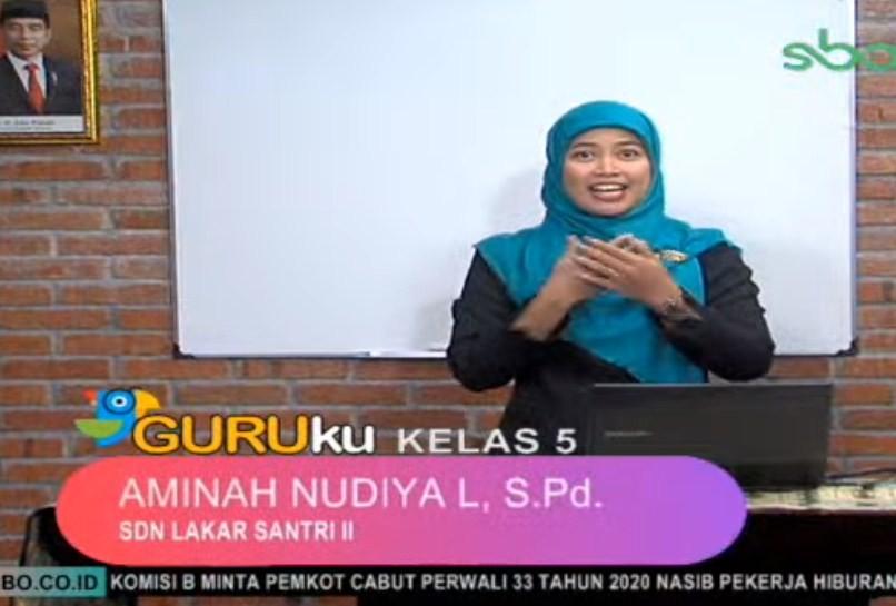 Soal dan Jawaban SBO TV 4 Agustus 2020 SD Kelas 5