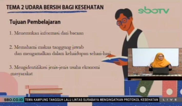 Soal dan Jawaban SBO TV 5 Agustus SD Kelas 5