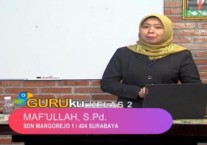Soal SBO TV 28 Agustus 2020 Kelas 2