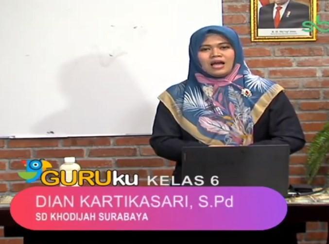Soal SBO TV 19 Agustus 2020 Kelas 6
