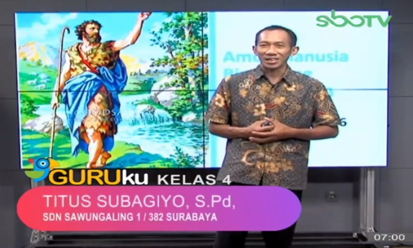 Soal SBO TV 29 September 2020 Kelas 4