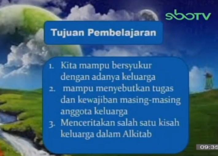 Soal dan Jawaban SBO TV 29 September SD Kelas 1