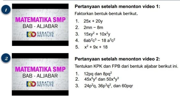 Tentukan KPK dan FPB dari bentuk aljabar dari 24p2q, 36p3q2, dan 60pqr