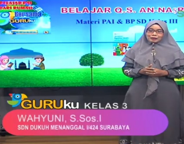 Soal SBO TV 8 September 2020 Kelas 3