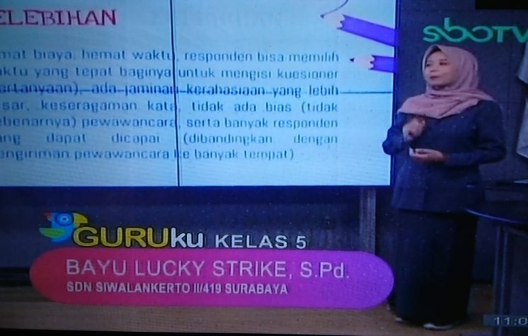 Soal SBO TV 22 September 2020 Kelas 5