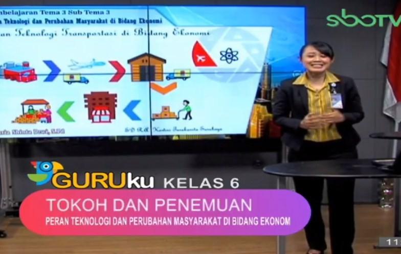 Soal SBO TV 24 September 2020 Kelas 6