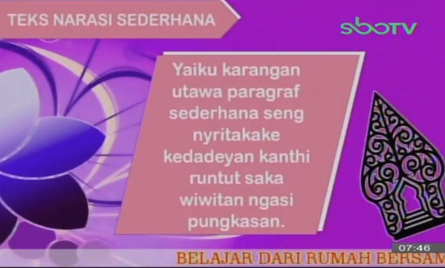 Soal dan Jawaban SBO TV 9 Oktober SD Kelas 2
