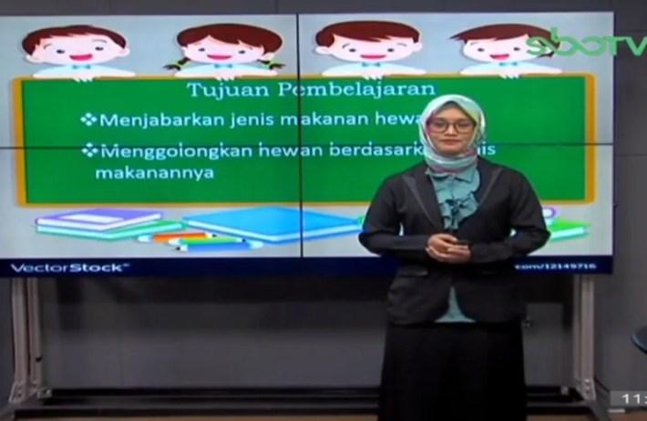 Soal SBO TV 21 Oktober 2020 Kelas 5