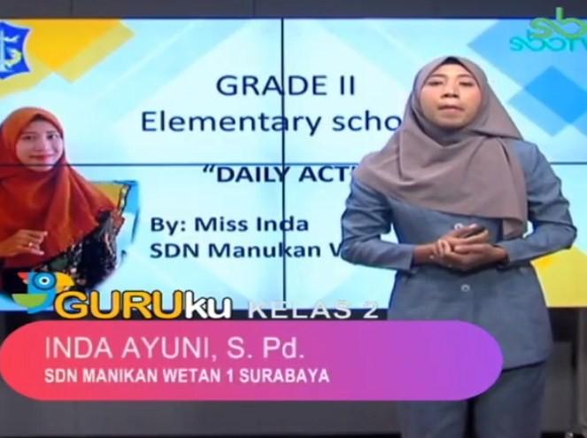 Soal SBO TV 15 Oktober 2020 Kelas 2