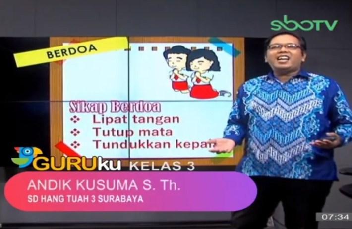 Soal SBO TV 15 Oktober 2020 Kelas 3