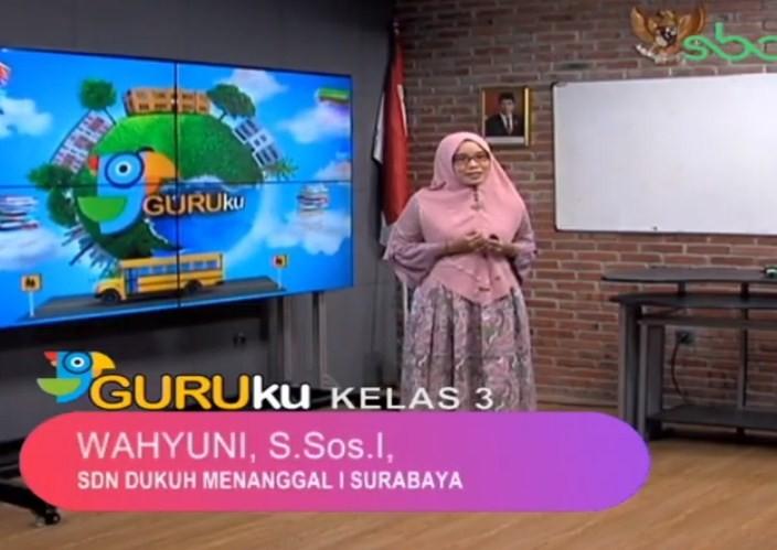 Soal SBO TV 22 Oktober 2020 Kelas 3