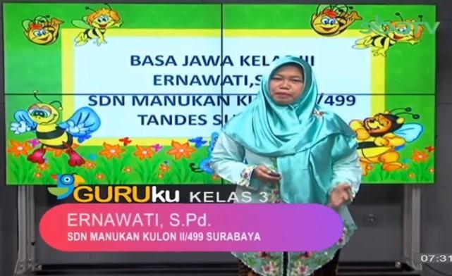 Soal SBO TV 26 Oktober 2020 Kelas 3
