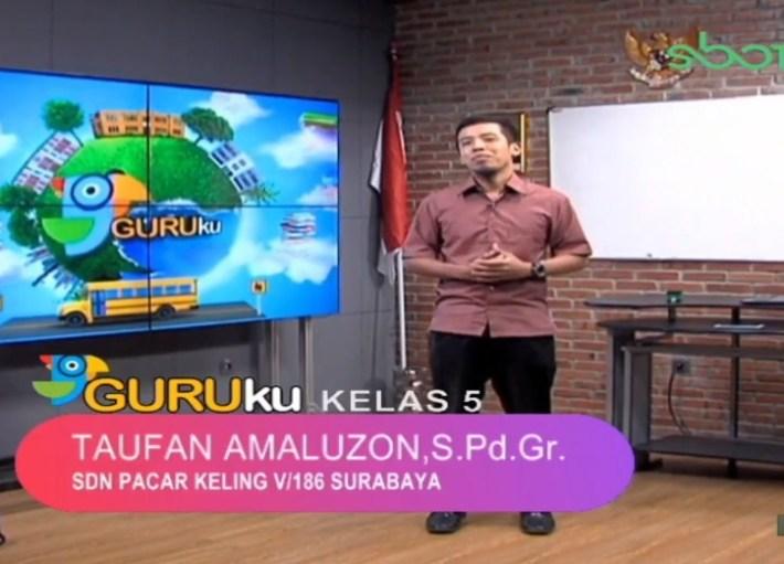 Soal SBO TV 20 Oktober 2020 Kelas 5