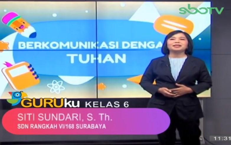 Soal SBO TV 14 Oktober 2020 Kelas 6