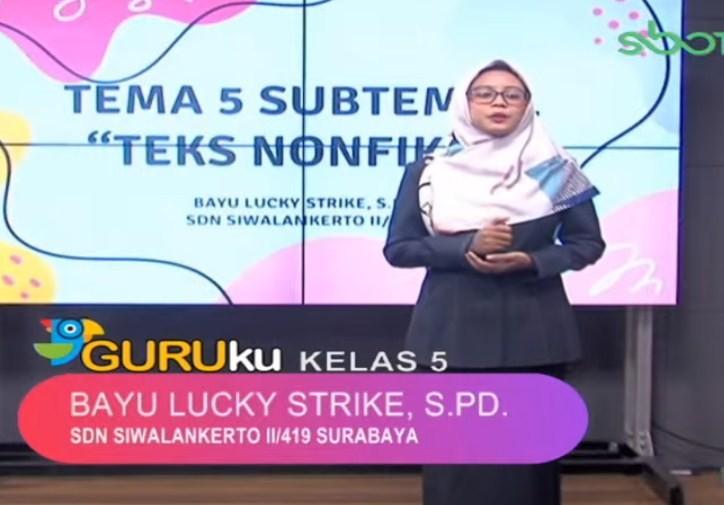 SBO TV 3 November 2020 Kelas 5