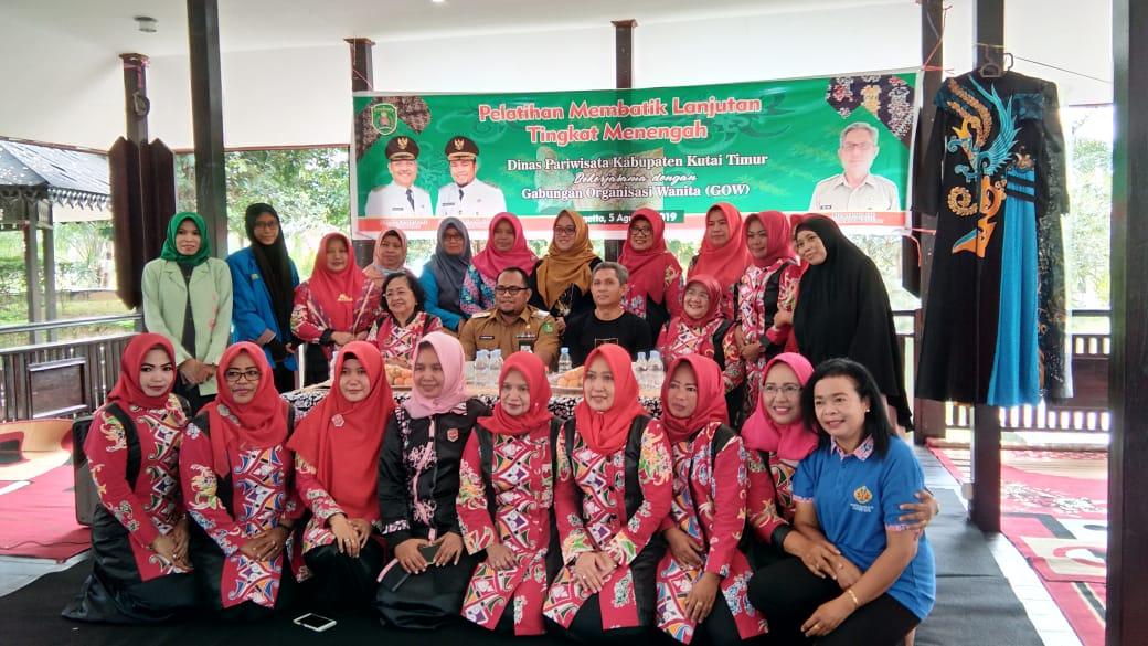 Pelatihan Membatik, GOW Kembangkan Potensi Wanita