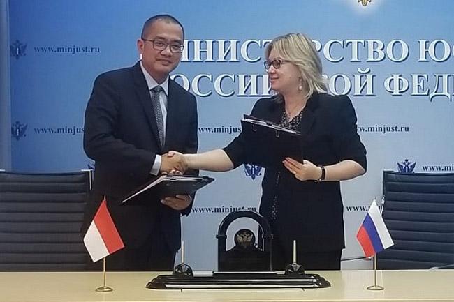 Dirjen AHU Pastikan Hubungan Bilateral Indonesia-Rusia Terjalin Baik
