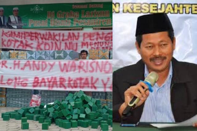 Merasa Dirugikan 1,2 M, Massa UMKM Athariz Gemilang Akan Demo Andy Warisno